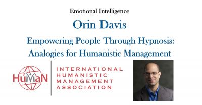 Empowering People Thru Hypnosis with Orin Davis