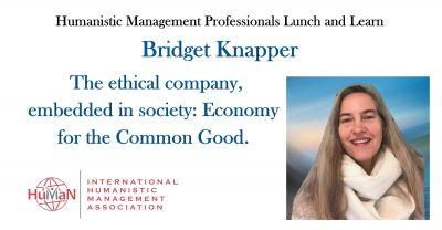 Bridget Knapper - Economy for the Common Good UK