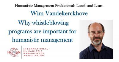 Wim Vandekerckhove discussing why whistleblowing programs are so important.