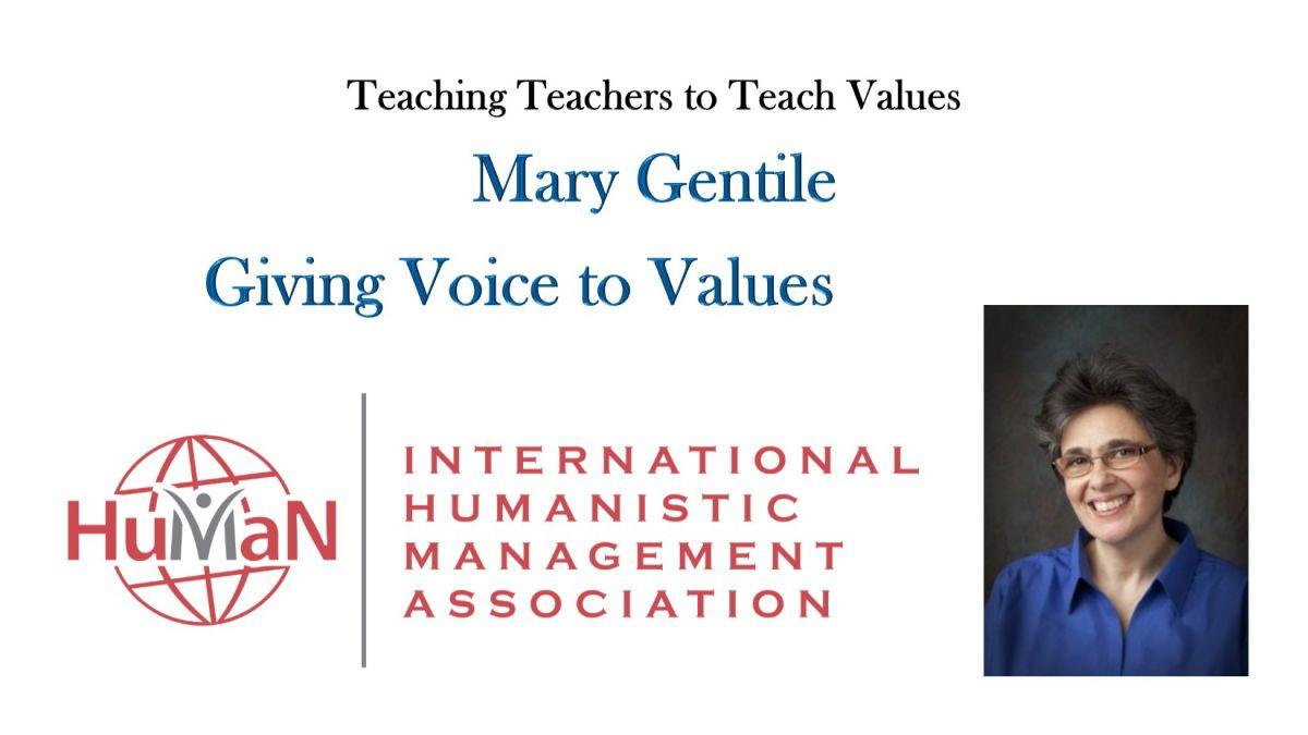 Mary Gentile Teaching Teachers